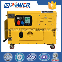 small soundproof indonesia diesel 8 kva 3phase generator