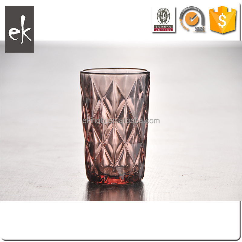 Diamond Water Glasses Wholesale Drinking Beer Glass Goblet