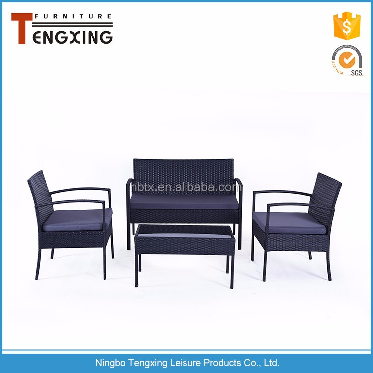 China factory direct rattan chairs and tables