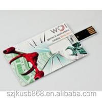 Promotion Credit Card Usb Flash Drive