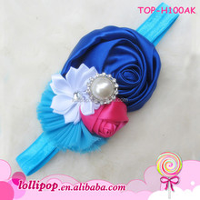 Newest Style Baby Kids Hair Accessories Fashion Six Flower Infant Headband For Toddle Wholesale