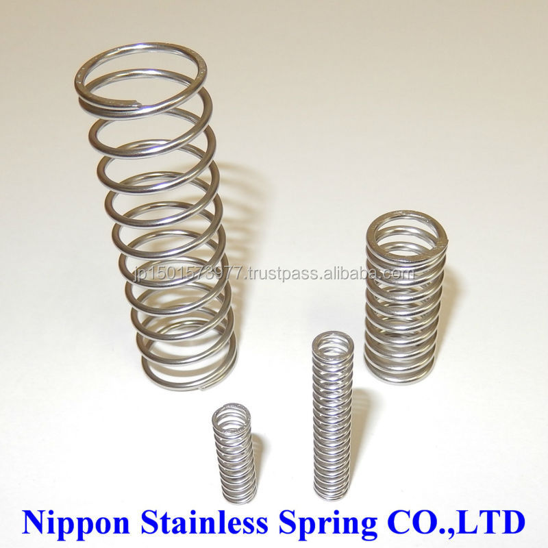 High precision specialty stainless steel compression coil springs for used cruise ship for sale