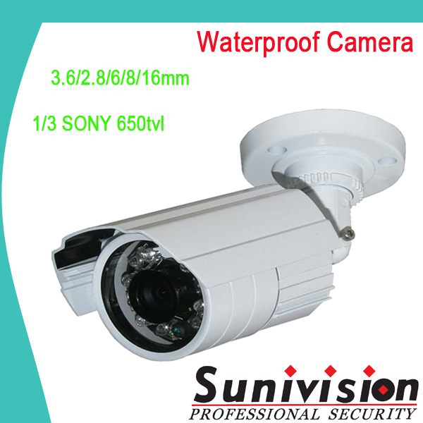 "1/3"" Sony 650TVL waterproof cheap night vision security airport equipment"