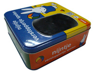 Toy Tin Packaging Box with window