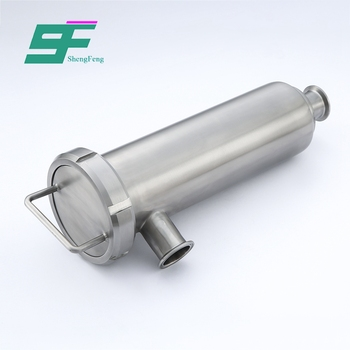New design stable reliable stainless steel sanitary Angle filter