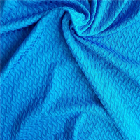 91 nylon 9 spandex fabric textured lycra fabric