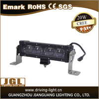 JGL new CREE 5W led light bar with high/low beam 12v 24v LED driving light bar for cars,trucks,auto parts