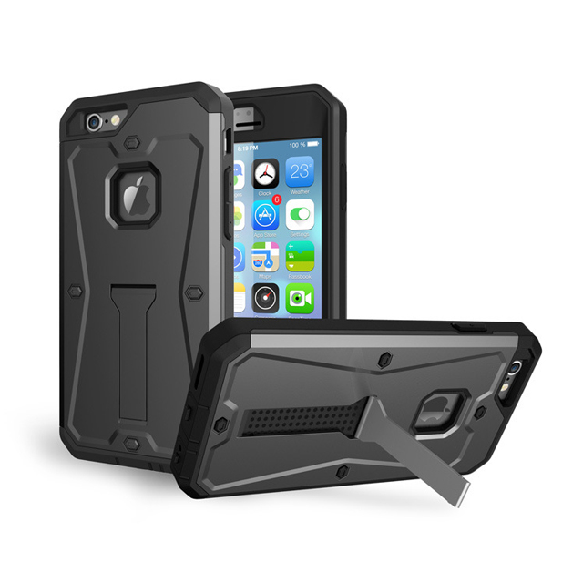 Hard Shockproof Heavy Duty Armor Case, Hybrid Cover for iPhone 6 plus Case