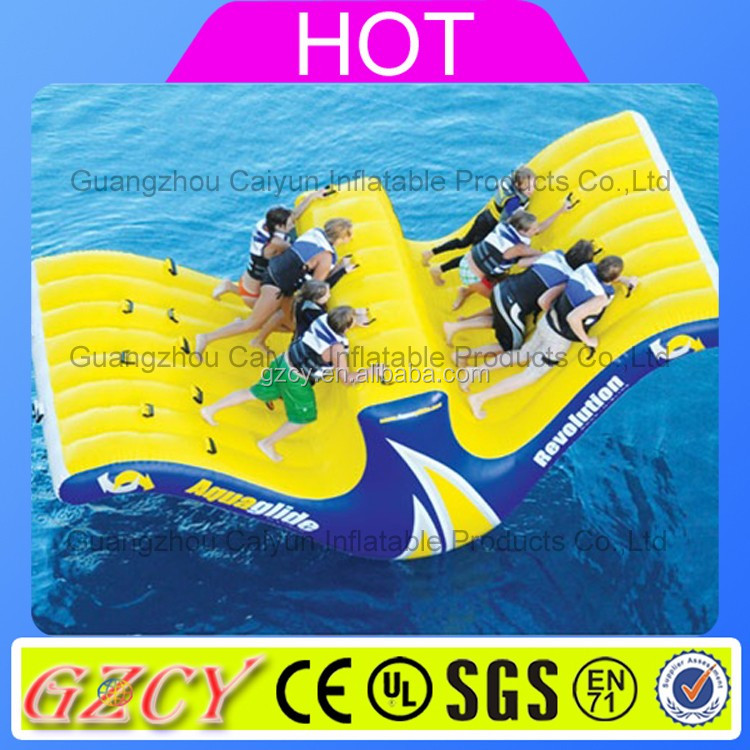 Water Equipment Inflatable Large Plastic Water Slide For Sale