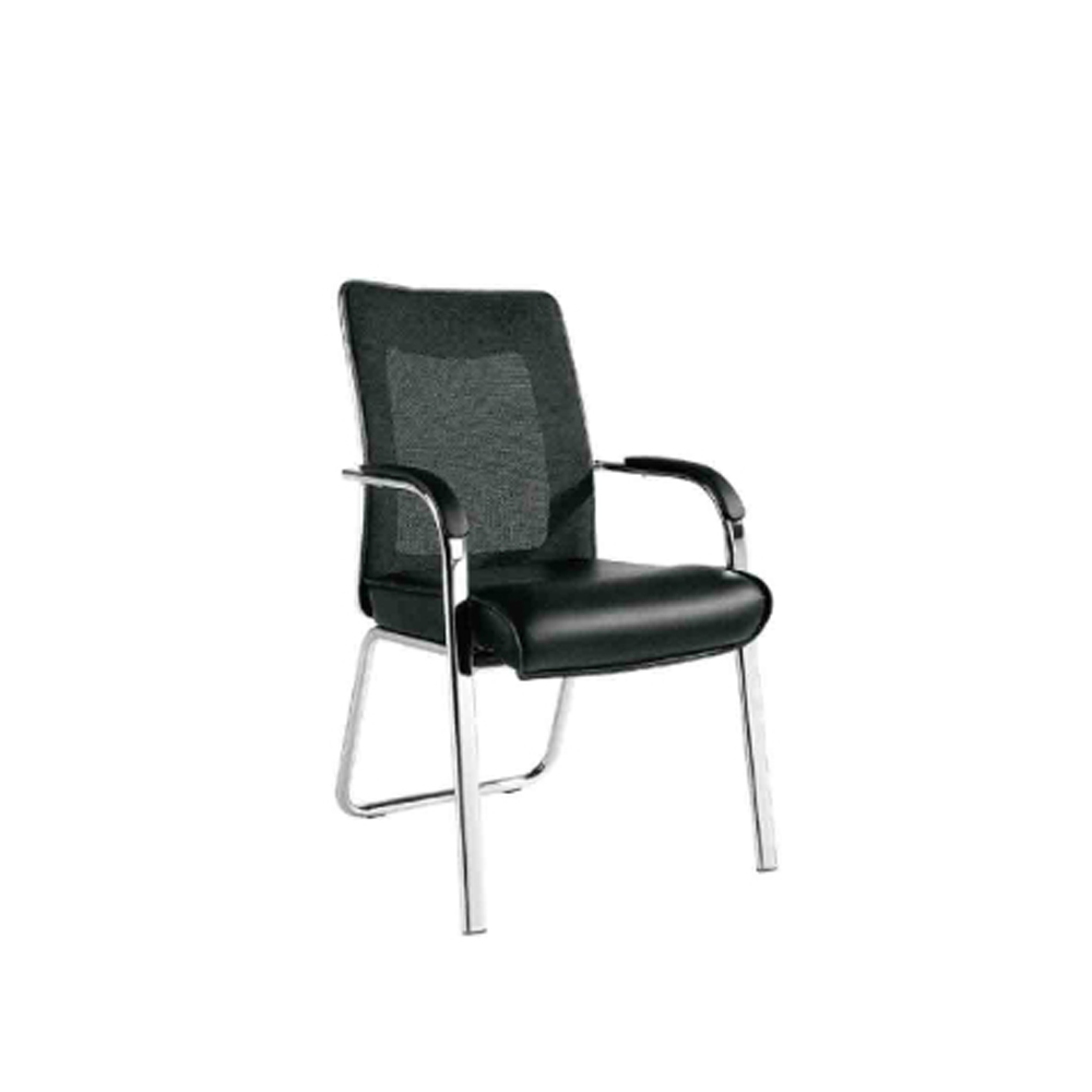 Mesh chair office Guest Meeting chair for Conference room no wheels
