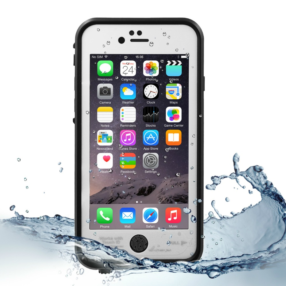 For iphone 6s/6 waterproof case, Waterproof/Shockproof/Snowproof/Dirtpoof Case for iPhone 6s/6