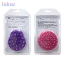 2017 best sell silicone hiar removal brush for short hair dogs