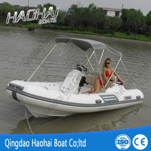 15'5''(4.7m) 6 persons inflatable carbon fiber boat with CE