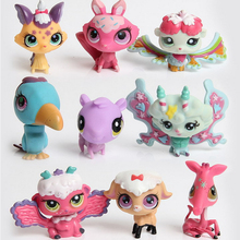 make custom pvc plastic small animal decoration action figure model toy for children gift