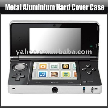 Metal Aluminium Hard Cover Case For Nintendo 3DS,YAG401A