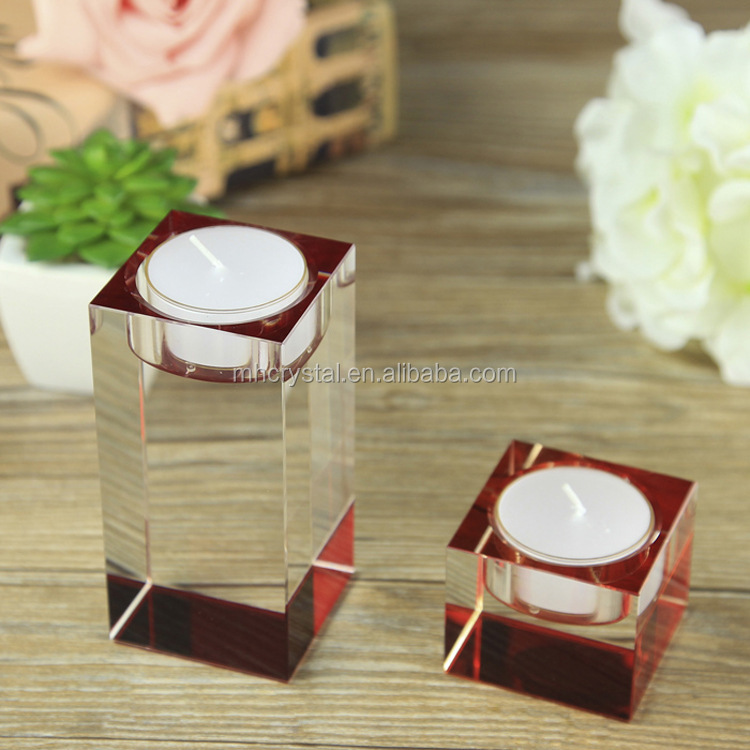 wedding crystal tealight holder MH-1873