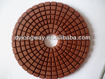 "150mm 3m wet polishing pads for granite,6""diamond polishing pads concrete,angle grinder polishing pads."