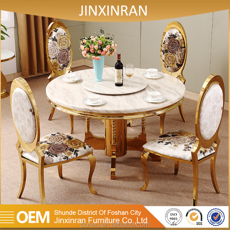 Foshan hotel banquet furniture manufacturer rose gold stainless steel dining chair