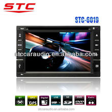 China manufacture cheap car dvd player STC-6019