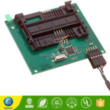 Waterproof coating 4 layer rigid edge plating pcb prototype