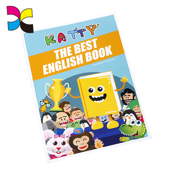 A4 size paperback Children learning The best English book printing