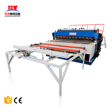 Automatic pneumatic reinforcing rebar panel making fence mesh welding machine