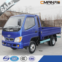 China famous brand T-king single cabin 4x2 diesel mini 1.5 ton trucks for sale