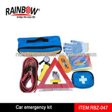 RBZ-047 car emergency tool kit with air compressor