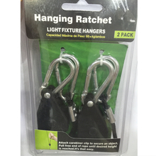 Hanging rope ratchet led grow light hanger adjustable length 150LBS 6ft rope for greenhouse plant growing