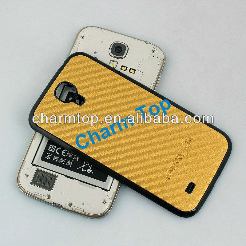 Carbon Fiber Hard Case Cover For Samsung Galaxy S4 i9500