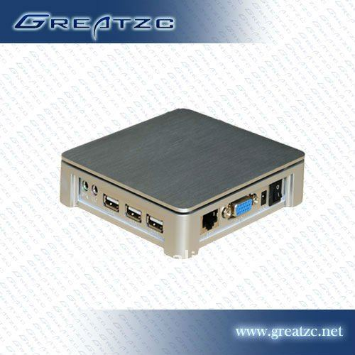 Cloud-based antivirus thin-client multi user network computing terminal
