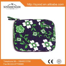 Best seller qulited cotton floral quilted trendy insulated women tablet pc case