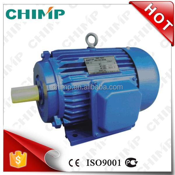 CHIMP YD series 60kW 4poles trifasicos multi-speed asynchronous AC electric motor