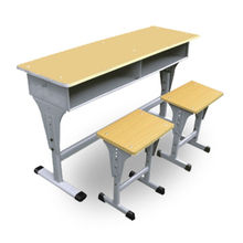 low price high quality school equipment modern school desk and chair made in China