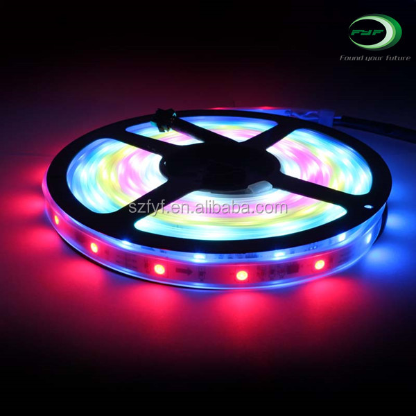 Swimming pool ws2811 water proof hot sale soft flex led strips lights wholesale ip68