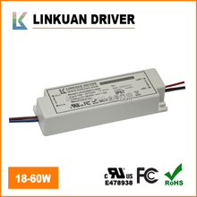 TUC-CE ROHS UL Approved 20-42V 900-1500MA 5W 9W 15W 24W 36W 45W 60W Constant Current Led Street light driver IP20 IP65
