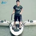 Manufacturers supply cheap plastic single fishing kayak canoe for sale