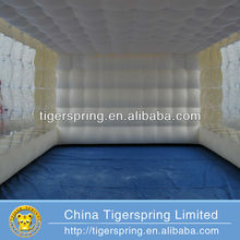 Hot welding or sewing oxford cloth inflatable tent for exhibition