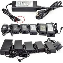 Eu AC 100-240V DC 12V 24v 15v 36v 2A 3A 5A 8A 10A 12.5A Adapter charger Power Supply for LED + Cord