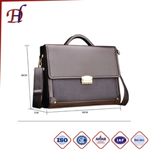 2017Travel Custom Businessman Briefcase Business Bag Briefcase For Man Mens Pu Leather Briefcase