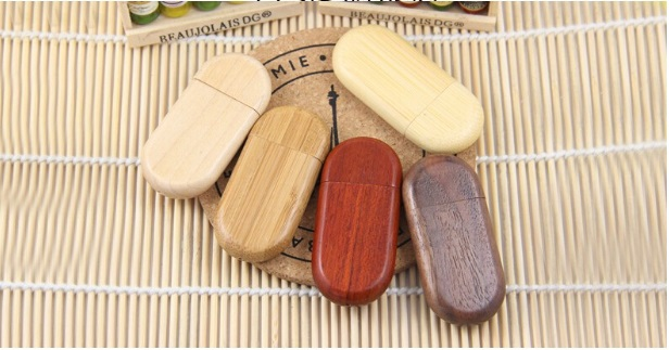 bamboo wood usb flash drive,flash disk in wooden box, promotion usb flash drive