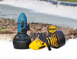 Driving sea scooter water scooter battery 24v dual speed underwater propeller diving equipment