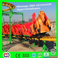 Top inquiry products!!!outdoor playground equipment train set roller coaster toy for sale