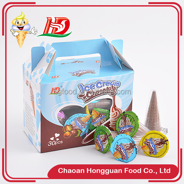 Kids favourite ice cream shaped brands biscuit cup chocolate