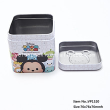 Cute Style Gift Tin Box For Promotional With High Quality