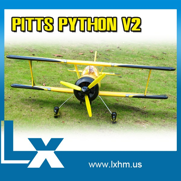 Hobby toy rc trainer model plane pitts