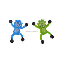 5170805-10 orangutan sticky toys Christmas gifts soft PU stress relif keychain Yiwu factory Cheerful monkey squishy animal toys
