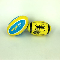 high quality stuffed soft rugby ball from China