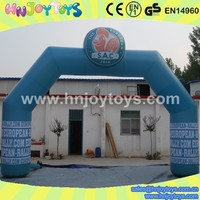 Advertising Inflatable Arch with Balloon, Starting Gate