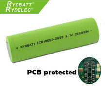 Li-ion lg 18650 battery 2600mAh 3.7v